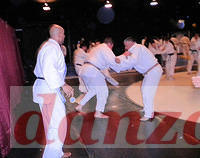 Sensei Nick Lowe from England give a fast-paced Judo class